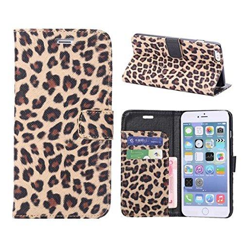 iPhone 6 Hülle,Apple iPhone 6 Hülle (4.7 Zoll) Lifetrut®[BW Braun] Schutzhülle Flip PU Ledertasche Ständer Schutzhülle Tasche Hülle Case Cover mit Kreditkartensteckplätze für Apple iPhone 6 (4.7 Zoll)
