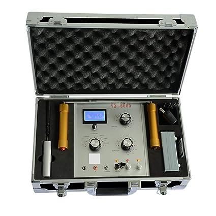 Detector de metales subterráneo VR8800 Treasure Hunter Instrumento de prospección de profundidad 50M