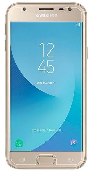 SDTEK Protector de Pantalla para Samsung Galaxy J3 Cristal Vidrio ...