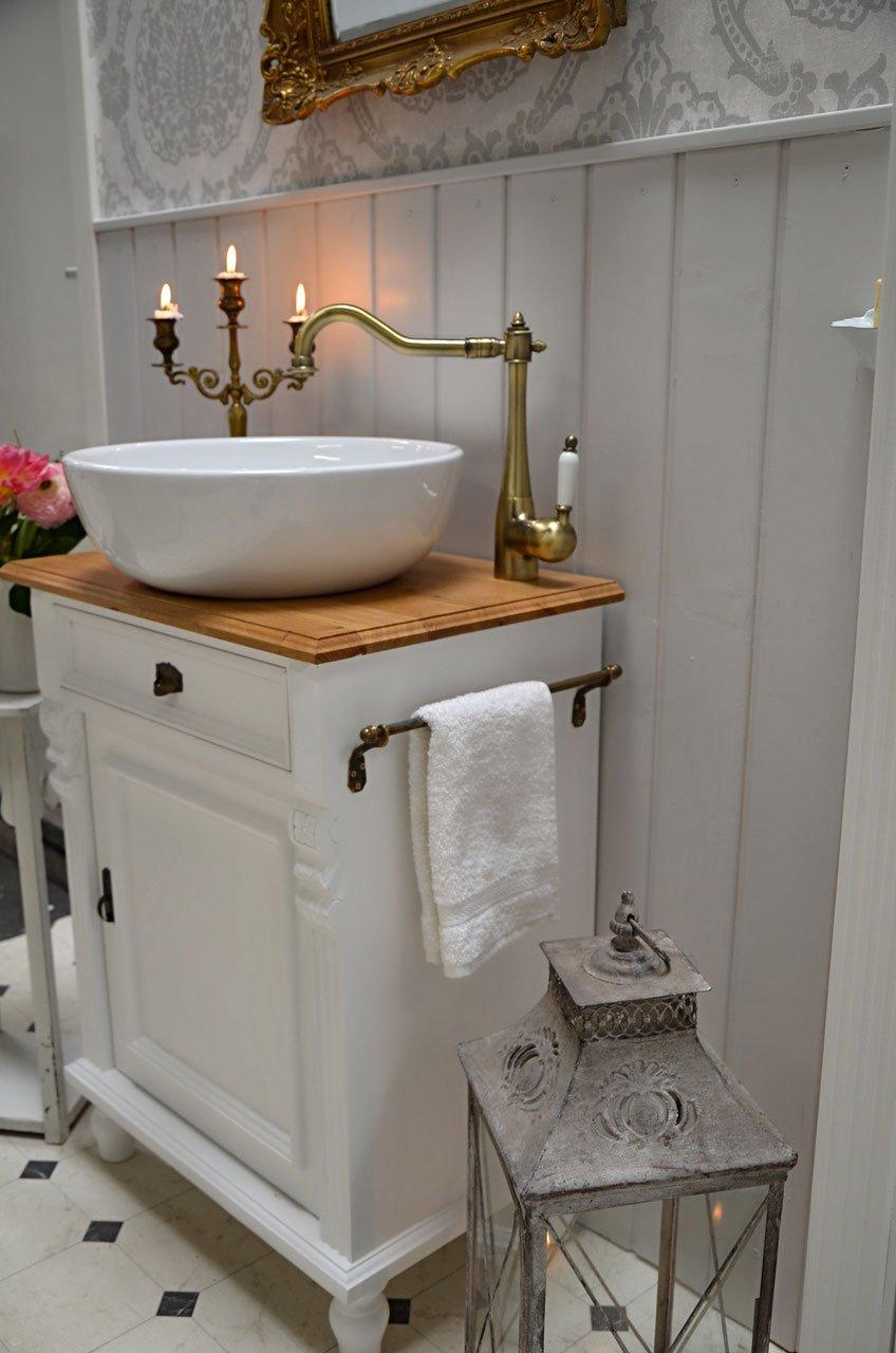 País & Amor de Muebles de baño GmbH Grenadine: rústico de Lavabo, Vintage, nostálgico: Amazon.es: Hogar