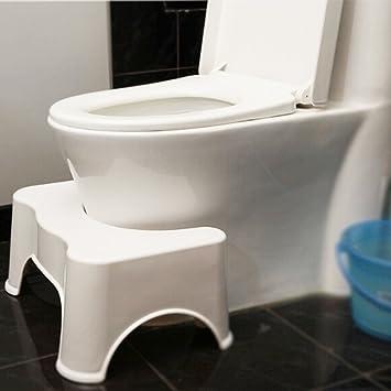 Squatting Toilet Stool 9 inch Toilet Step Stool Bathroom Squat Aid ...