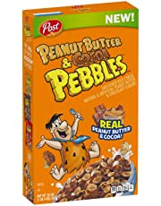 Post Peanut Butter and Cocoa Pebbles Cereal (567 Grams)