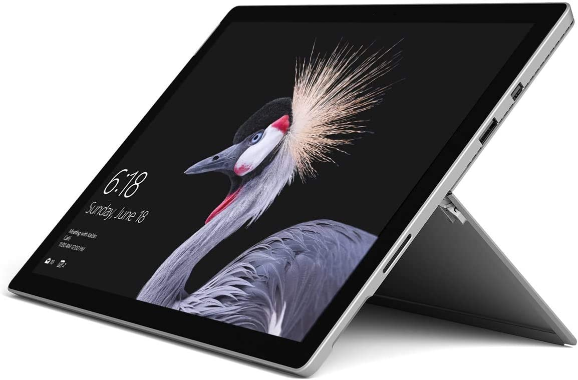 "2017 Microsoft Surface Pro 4 12.3"" Laptop/Tablet (2.2 GHz Intel Core M3, 4GB RAM, 128 GB SSD, Windows 10 Pro), Silver"