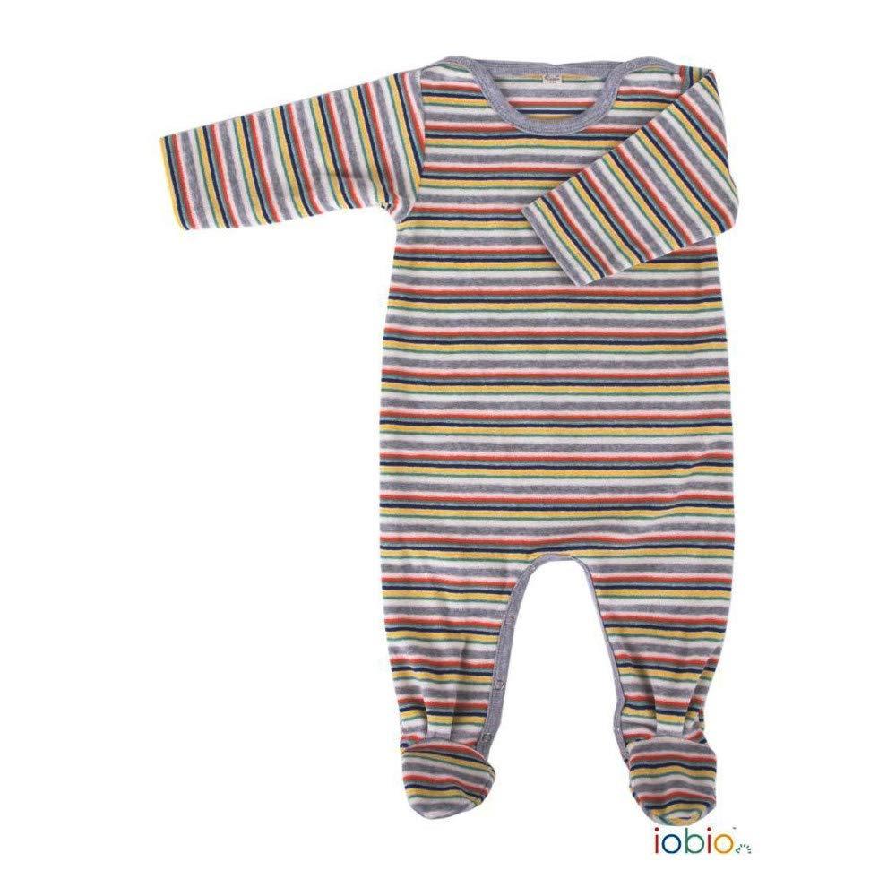iobio Baby Wickelhemd Langarm Baumwolle