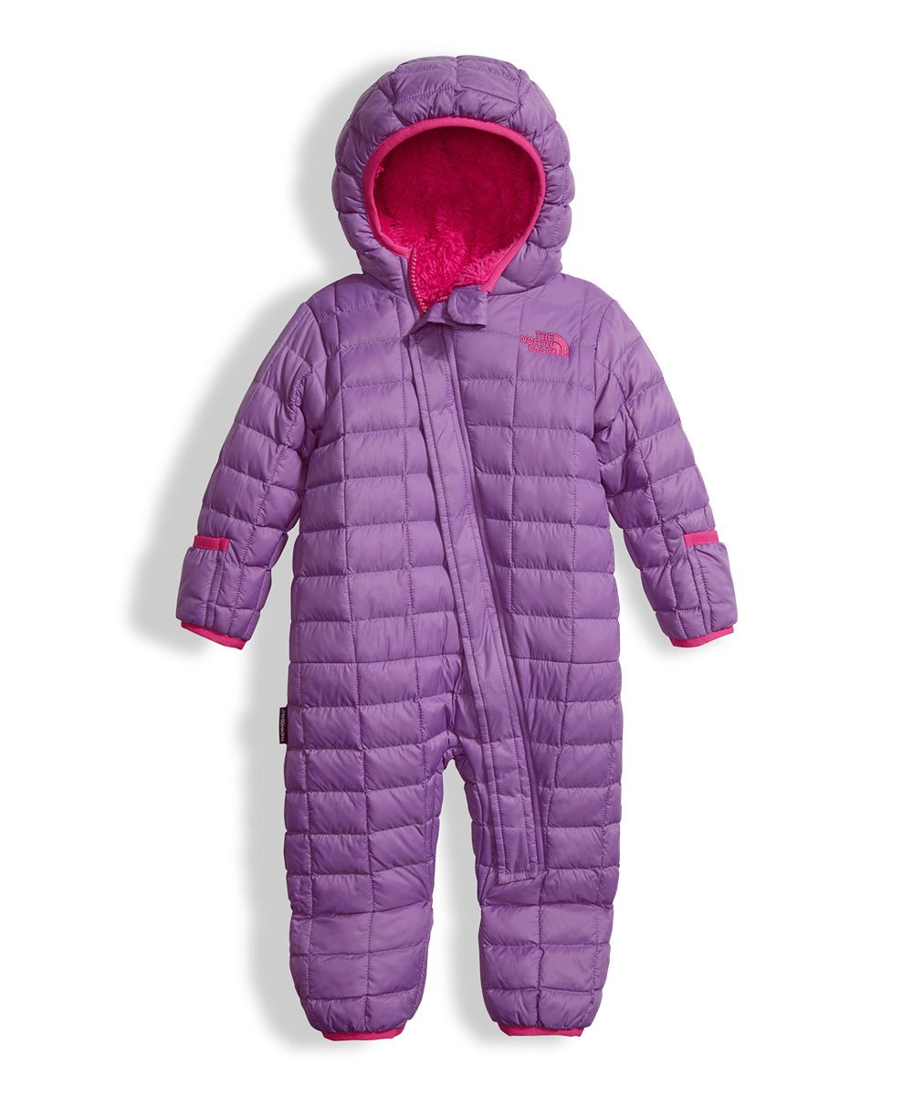 The North Face Baby Girls' Thermoball Bunting - bellflower purple, 6 - 12