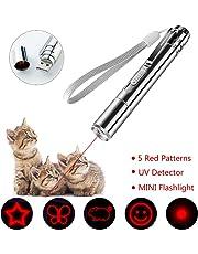 LED Pointer für Katzen 4 in 1 Katze Chaser Spielzeug Katze interaktive Spielzeug mit USB-Direktladung