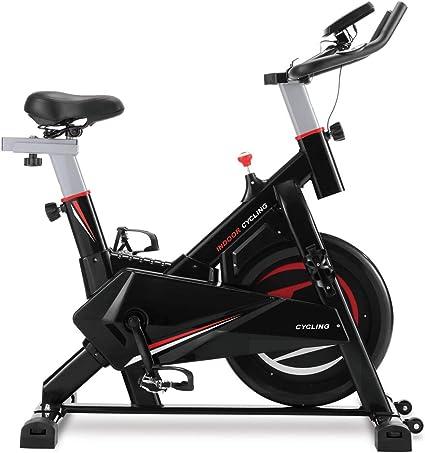 Hommoo Bicicleta estática con Correa para Bicicleta con Volante de ...