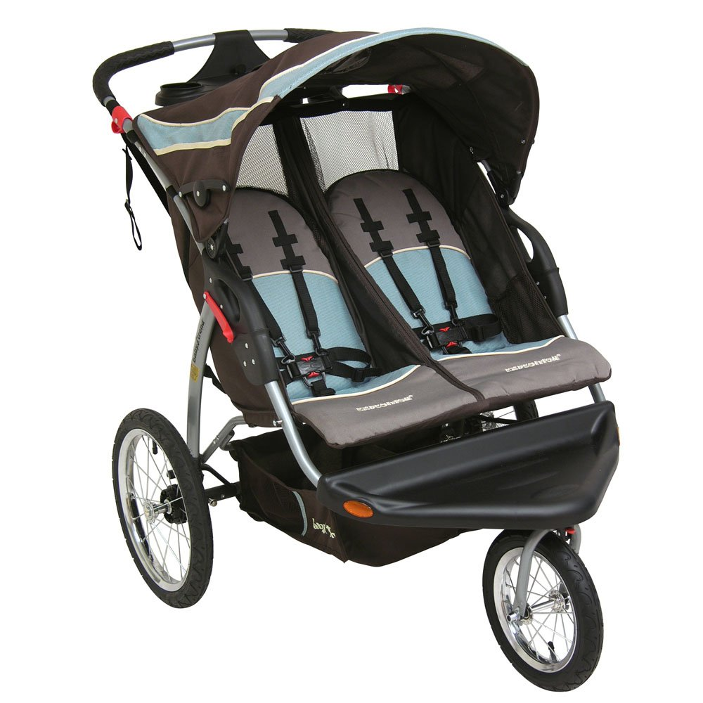 Amazon.com : Baby Trend Expedition Double Jogging Stroller, Skylar ...