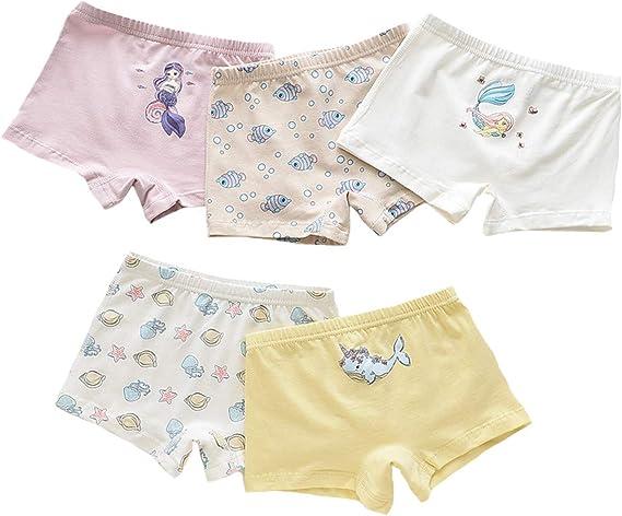 Adorel M/ädchen Unterhosen Pantys Baumwolle 6er-Pack