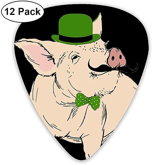 St. Patricks Day Piggy.PNG Classic Picks 12 Pack para guitarra ...
