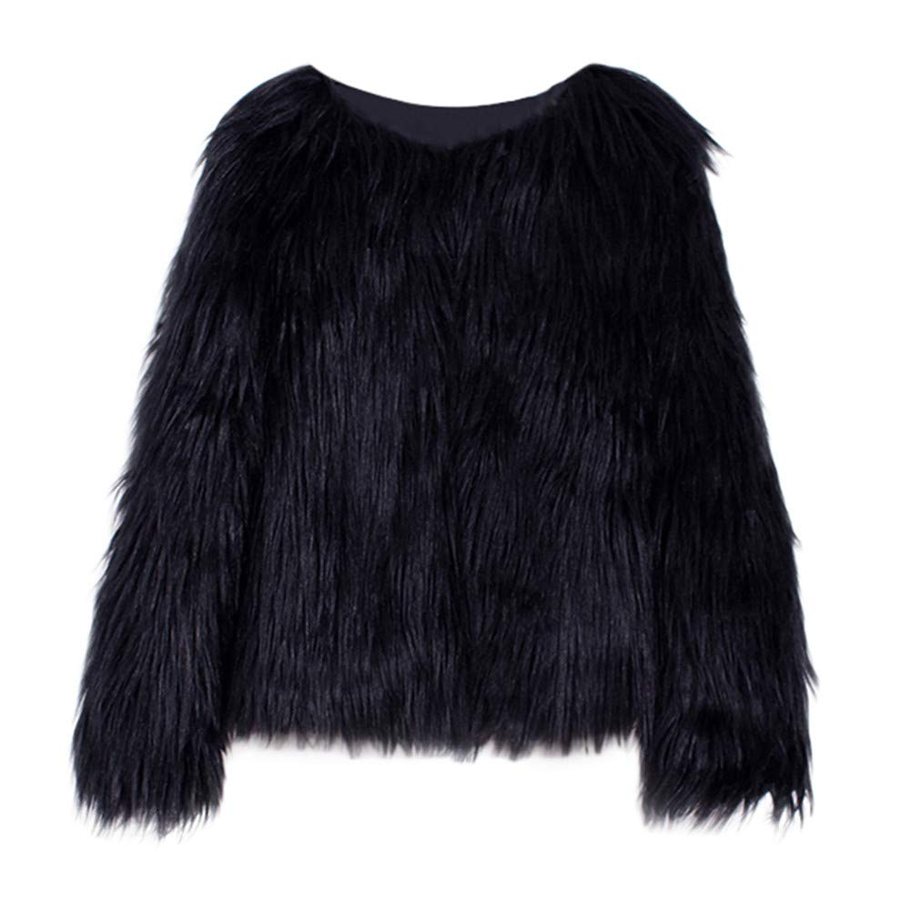 23945b8147df Amazon.com   Baby Toddler Girls Clothes Winter Warm Faux Fur Thick ...