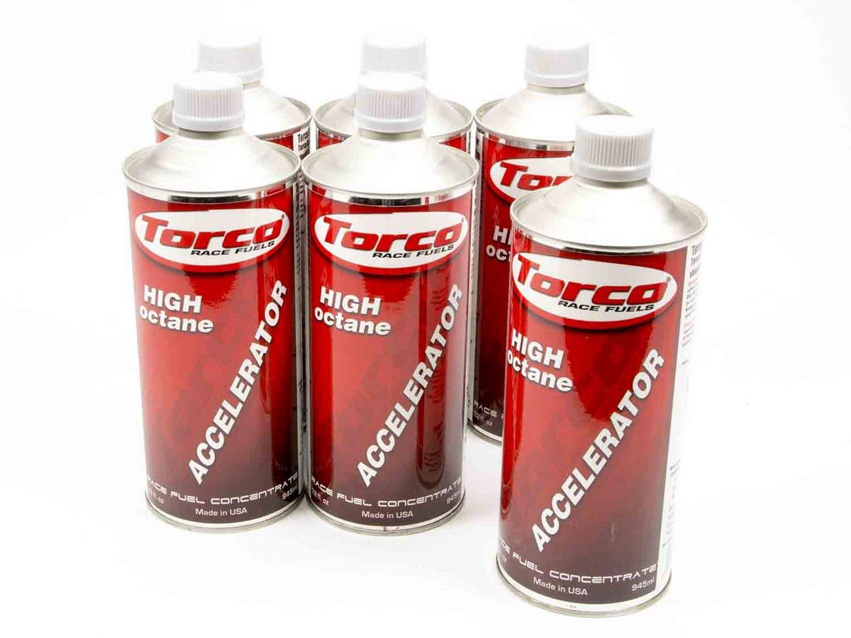 Torco F500010T Unleaded Fuel Accelerator - 32 oz. Bottle, (Case of 6)