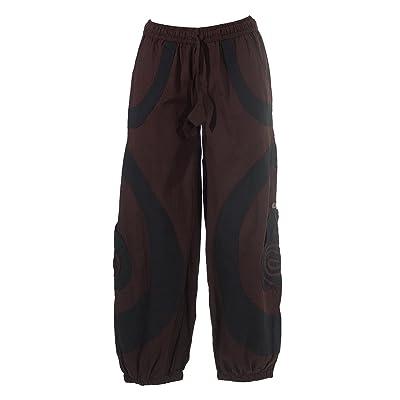 Coline Pantalon large aladin poches spirales