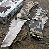 ARMY DIGITAL CAMO TANTO Tactical Folding Pocket Blade Knife