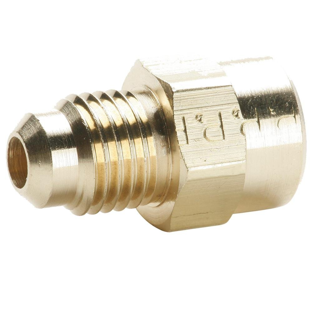 Pack of 10 Flare to Female Pipe 1//4 1//2 Parker 46F-8-4-pk10 45 Degree Fitting Brass Flare and Female Pipe Connector