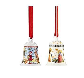 Porzellanglocke Weihnachtsglocke 2016 Hutschenreuther in OVP