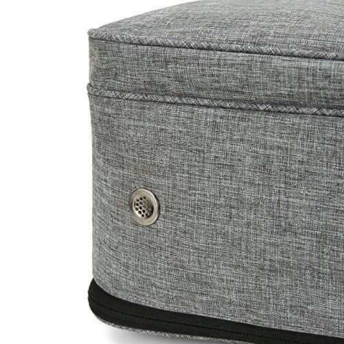 VASCO Shoe Travel Bag – Zipper Bags – Suitable as Shoe Gym Bag – For Men & Women - Gray by Vasco (Image #6)