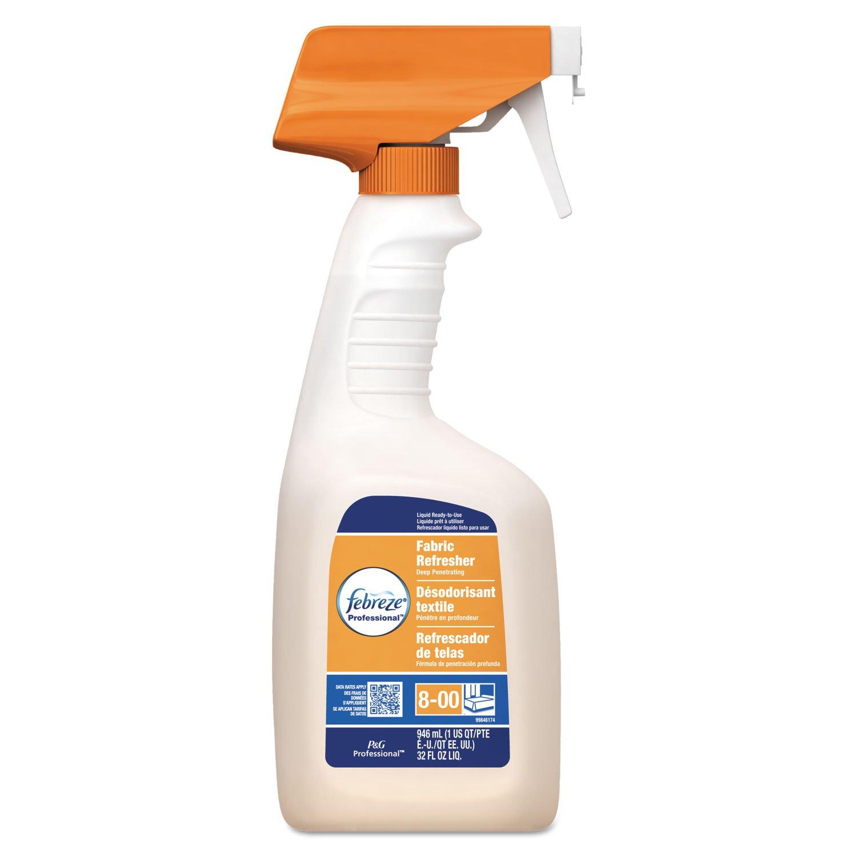 Febreze 03259CT Professional Fabric Refresher Deep Penetrating Fresh Clean 32oz Spray 8/Ctn