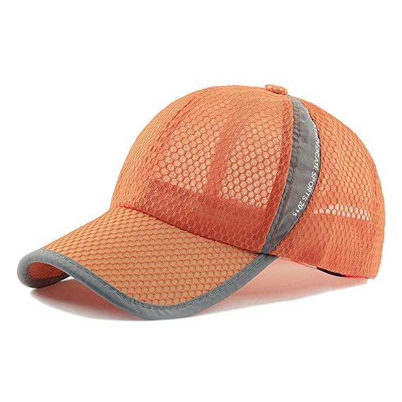 ITPDJKE Korean Version of The Baseball Cap Hat Outdoor Mesh