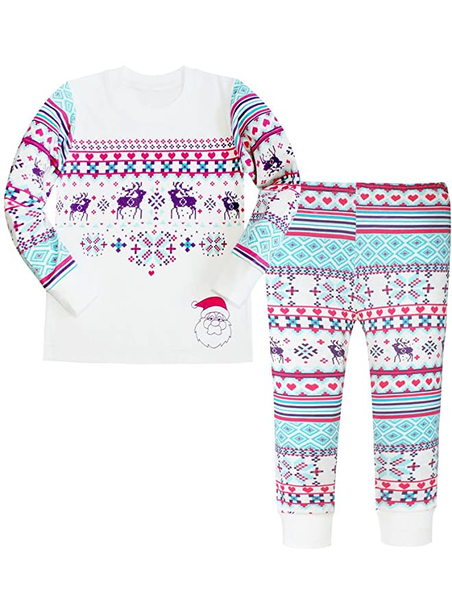 Toddler Girl Christmas Pajamas by ATTRACO