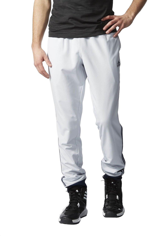 adidas(アディダス)メンズスリム3S織布パンツ B00R552WWW XX-Large|Medium Grey/Navy Medium Grey/Navy XX-Large