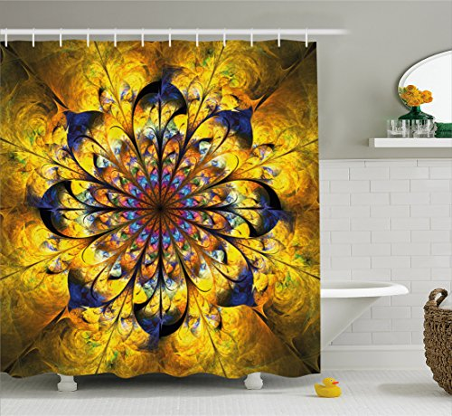 Yellow Asian Fabric - 5