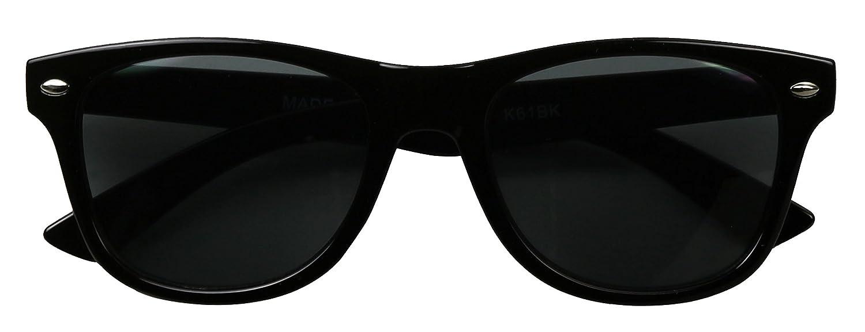 84bf3e75097b Amazon.com: ShadyVEU - Kids Classic Round Retro Black Vintage Children's  80's Boys Girls 2-6yrs Sunglasses: Clothing