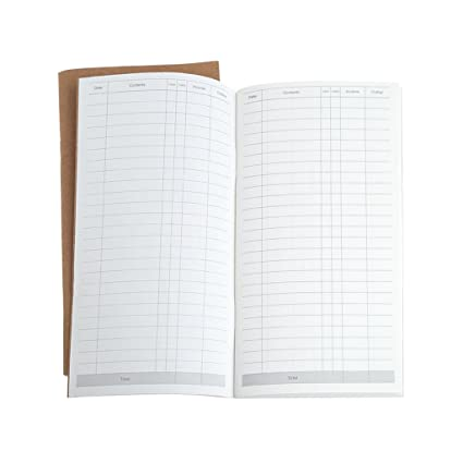 Ladaidra Notebook Tally Page, 64 Sheets Kraft Cover for Writing Drawing  Painting Sketching