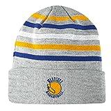 Golden State Warriors Mitchell & Ness NBA ''Team Stripes'' Cuffed Premium Knit Hat
