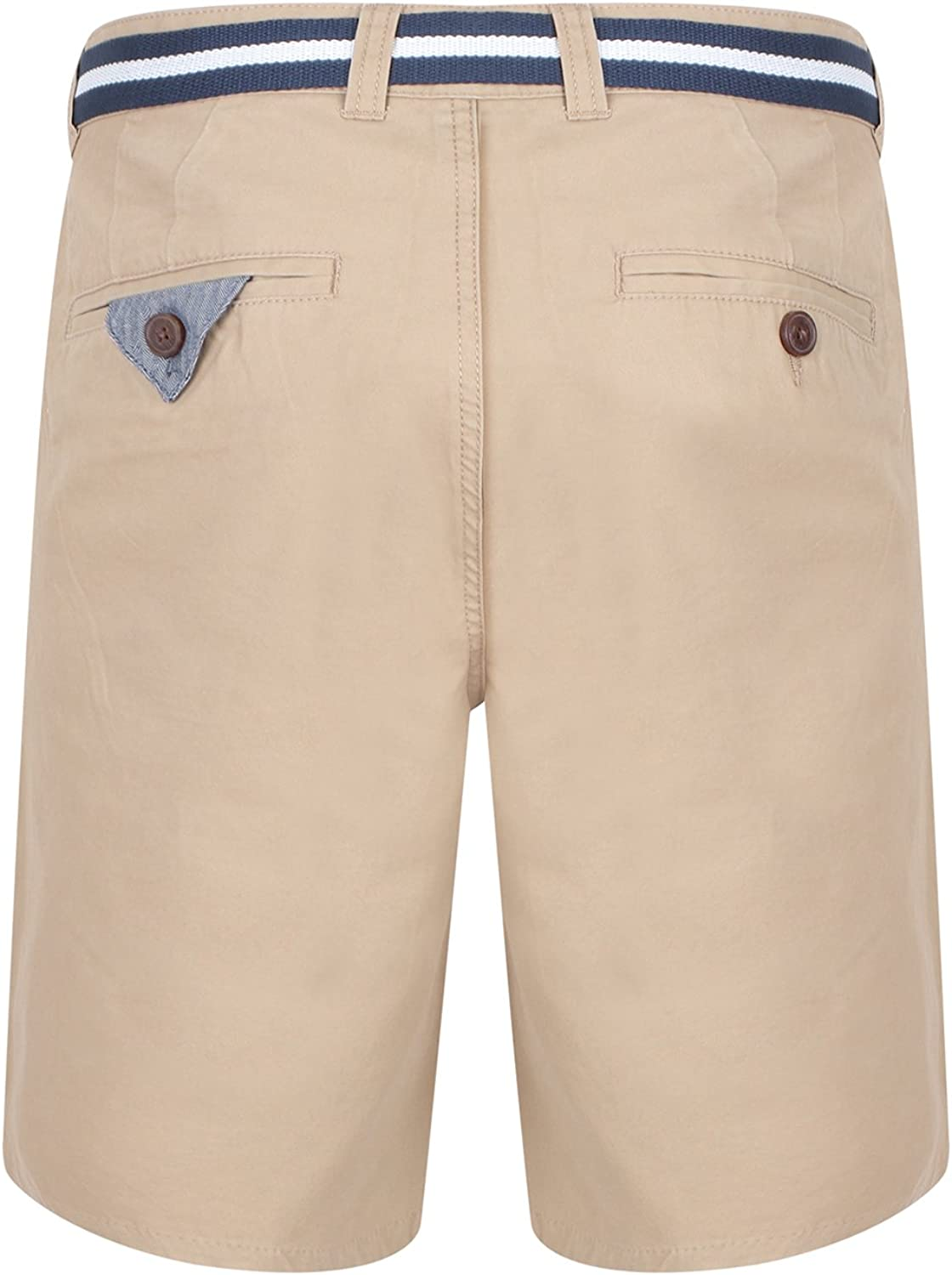 Mens Chino Shorts by Tokyo Laundry /'Crater/' With Belt