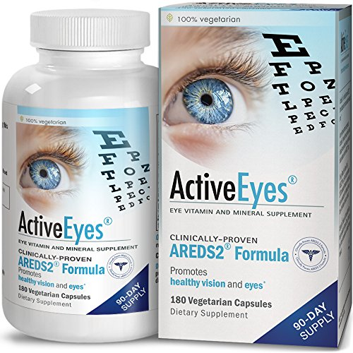 Bronson ActiveEyes AREDS 2 Eye Vitamin & Mineral Supplement, 180 Vegetarian Capsules