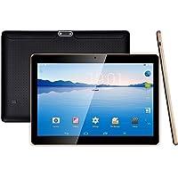"LLLtrade Android Tablet 10 Inch Sim Card Slots - 10.1"" 4GB RAM 64GB ROM Octa Core 3G Unlocked GSM Phone Tablet PC WiFi Bluetooth GPS Netflix YouTube (Black)"