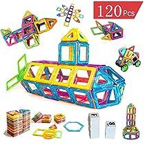 VOOPH マグネットブロック 磁気おもちゃ 磁気ブロック76個 他の...