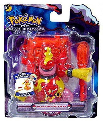 Pokemon Battle Link Battle Dimension Series 10 Basic Figure Magmortar (Link Jakks Pacific)