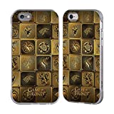 Official HBO Game Of Thrones All Houses Golden Sigils Silver Fender Case for Apple iPhone 6 / iPhone 6s