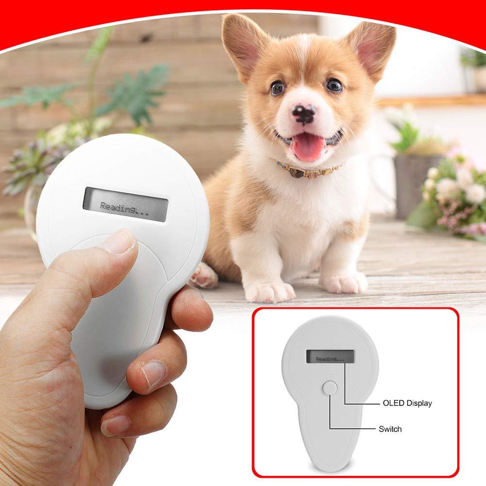 Brave669 [Pet Supplies]-Universal RFID ISO FDX B Animal Chip Dog Reader Microchip Handheld Pet Scanner