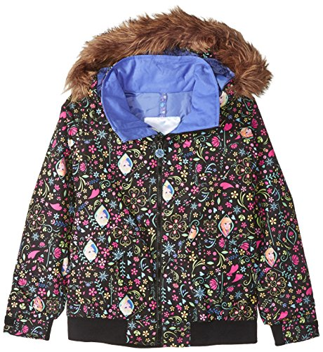 Burton Bomber (Burton Youth Girls Twist Bomber Jacket, Elsa & Anna Frozen, Large)