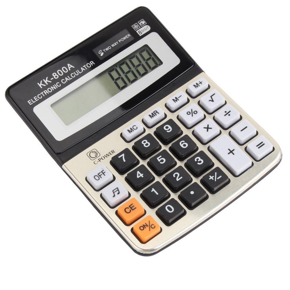 Beito 8/display digitale desktop calcolatrice finanziaria contabilit/à aziendale con suono