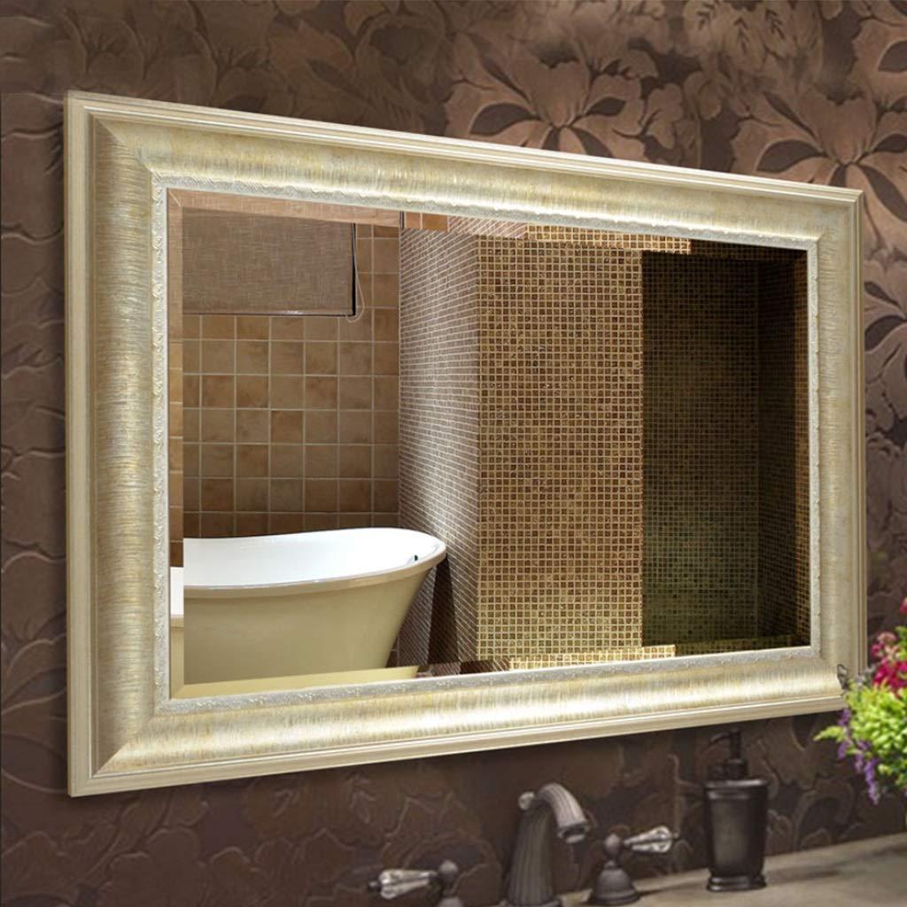 Suministros de limpieza y saneamiento Grifos de lavabo FAYM--Conjunto Central Sola Manija Un Agujero In Ti-Pvd Baño Grifo Del Fregadero