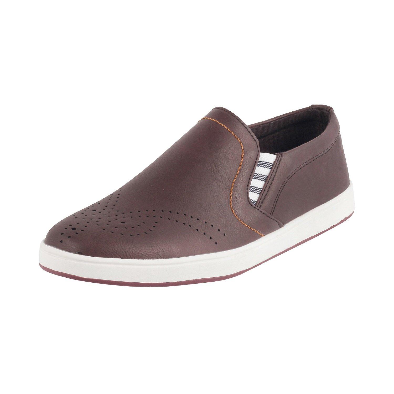 ba05f87e41696 METRO Men BROWN LEATHER Flat Shoes ( 71-9212 ) 71-9212-12-BROWN  Amazon.in   Shoes   Handbags