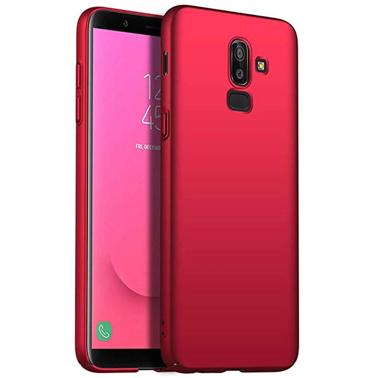 Hishiny Coque Samsung Galaxy A8 Plus 2018, Dur PC Housse [Ultra Mince] [Ultra Léger] Anti-Rayures A8 Plus 2018 Étui Protector Shell Bumper Case Cover Samsung Galaxy A8 Plus 2018 Coque Étui