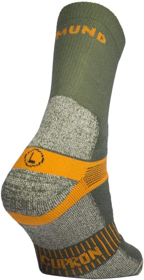 Antibacteriano y terap/éutico Mund Socks Calcet/ín Trekking TRAMUNTANA Semicompresivo