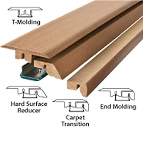 Simple Solutions 4 In 1 Transition Molding 39 3 8 Oak