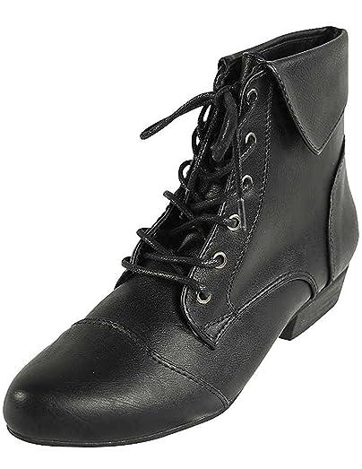 Ladies Indy-11 Bootie Boot Black 6.5