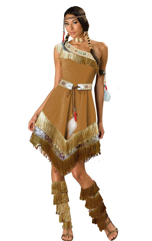 Indian Squaw Pocahontas Costume Ladies Sexy Fancy Dress 8 10 (m6723) Amazon.co.uk Toys u0026 Games  sc 1 st  Amazon UK & Indian Squaw Pocahontas Costume Ladies Sexy Fancy Dress 8 10 (m6723 ...
