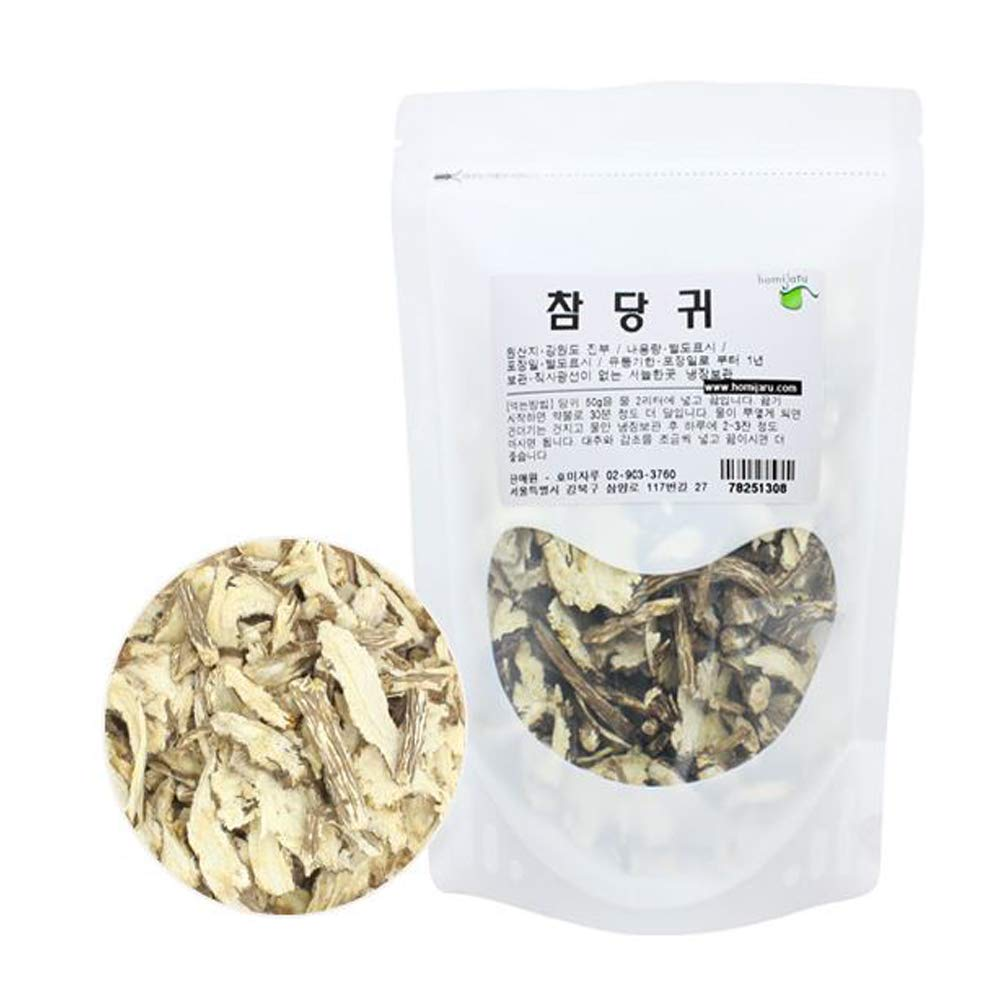 Korean Natural Angelica Root Dried 10.5oz(300g) Herbal Herbs 당귀
