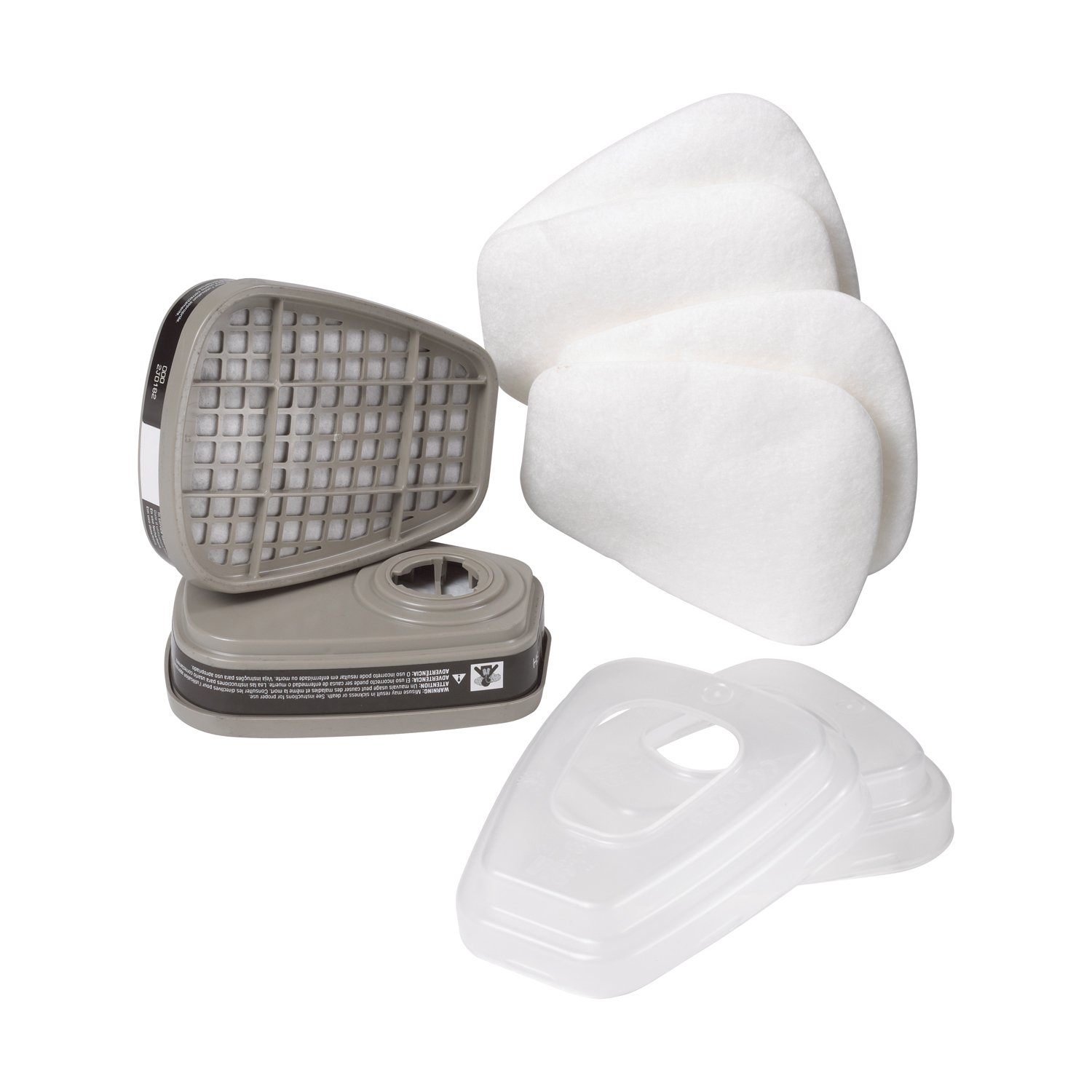3M 62023DHA1-C Professional Multi-Purpose Drop Down Respirator, Medium by 3M Safety (Image #2)
