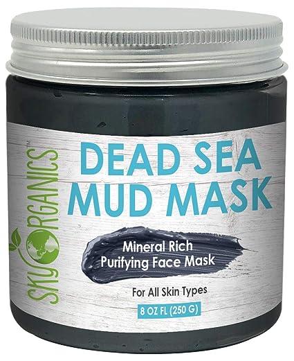 Amazon.com: Máscara de barro del Mar Muerto para rostro ...