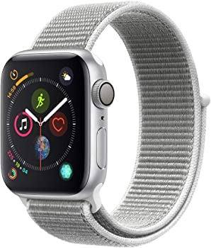 Apple Watch Series 4 40mm GPS Smartwatch with Seashell Sport Loop