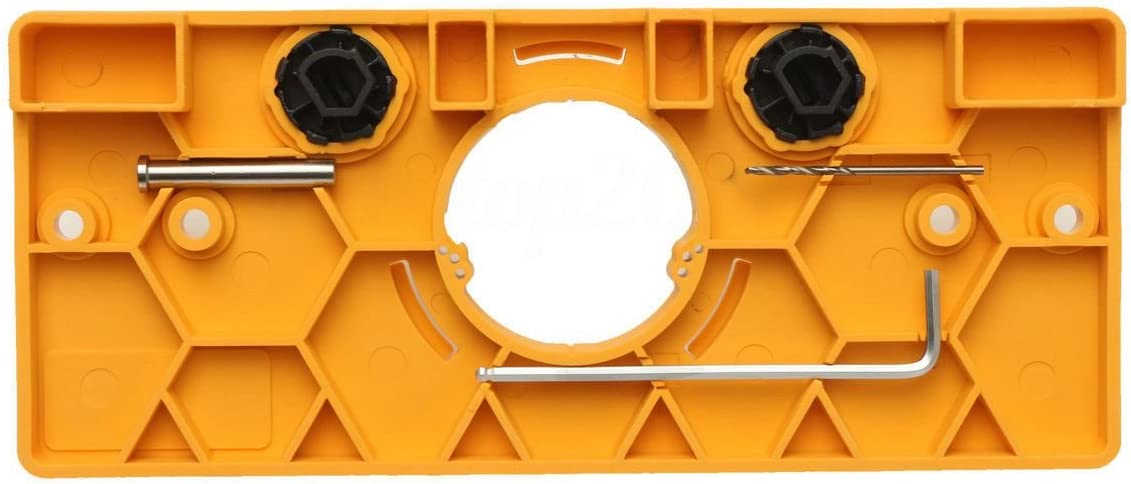 YeBetter Gabarit de per/çage de charni/ère 35 mm pour trou de porte